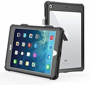 透明 iPad第8世代 【第8世代】iPad 10.2 防水ケース,IP69K規格 超強防水 防雪 防塵 耐衝撃 指紋認識機能