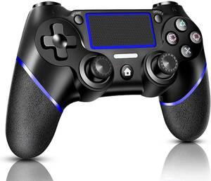 PS4用 コントローラー ワイヤレス 「NEWモデル」 最新バージョン対応 Bluetooth接続 600mAh 高耐久ボタン 二重振動 ヘッドフォンジャック