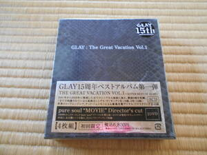 THE GREAT VACATION VOL.1~SUPER BEST OF GLAY~(初回限定盤B)(DVD付) CD+DVD, Limited Edition GLAY