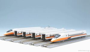 KATO 10-1476+10-1477 台湾新幹線 700T 基本セット+増結セット 12両フル編成セット