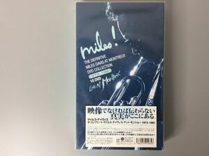 SR525-80L2 THE DEFINITIVE MILES DAVIS AT MONTREUX DVD COLLECTION 1973-1991 10DVD マイケル・デイヴィス アット モントール ジャズ