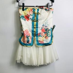 コスプレ衣装 ラブライブ チャイナドレス編 覚醒後 南ことり風 女性Mサイズ