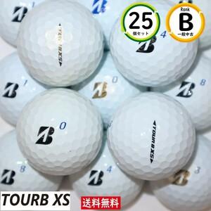 送料無料 TOURB XS 25個 Bランク ホワイト ブリヂストン ツアーb xs 中古 ロストボール