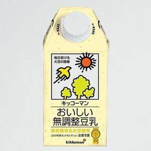 新品 未使用 おいしい無調整豆乳 キッコ-マン S-Z0 500ml×12本