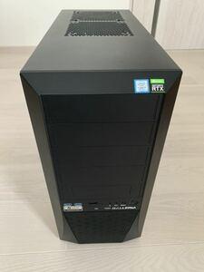 ゲーミングpc GALLERIA XF i7 9700K geforce RTX 2070 SUPER
