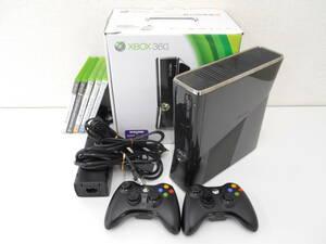 Microsoft/マイクロソフト Xbox 360セット 本体[Model.1439]+ソフト×5+コントローラ×2 スプリンターセル他 エックスボックス(24-2-4)