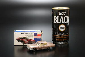 M tomica トミカ 外国車シリーズ キャデラック フリートウッド ブローアム 1/77 元箱