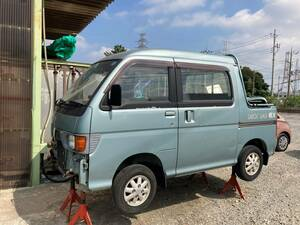Hijet * Deck Van 4WD circle car receipt without document Chiba prefecture . mountain city