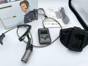 送料無料 中古 Panasonic ウェアラブルカメラ 4K HX-A500 グレー 動作確認済み