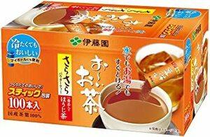 100本 (スティックタイプ) 伊藤園 おーいお茶 さらさらほうじ茶 (スティックタイプ) 0.8g×100本