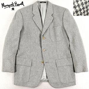 相場価格¥69,300- 美品 日本製 MARGARET HOWELL マーガレットハウエル 秋冬 ウール100% パターン切替 3つボタン ブレザージャケット M
