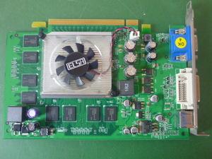 送料無料/30日保証/PCV-A11N取外し品 ■ 中古ビデオカード ELSA GLADIAC 743 DDR2 256MB(管3101906)