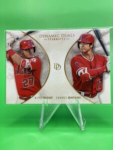 2018 Topps On Demand Dynamic Duals Mike Trout Shohei Ohtani