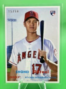 Topps Transcendent VIP PARTY Shohei Ohtani ROOKIE RC 15/50
