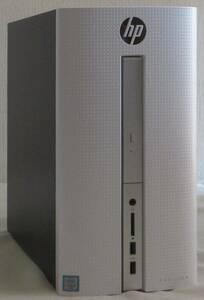 すぐ発送 ビジネスPC Microsoft Office 2013 512GBのSSD搭載 第6世代 Core i7 6700T HP PAVILION 510-P171jp メモリー8GB USB3.0 Windows10