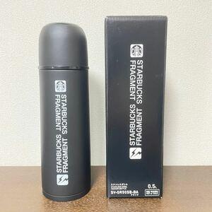 STARBUCKS スターバックス フラグメント ステンレスボトル 500ml タンブラー ブラック 黒