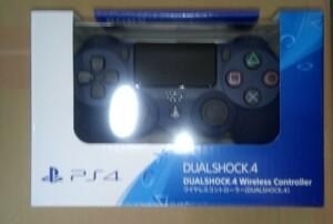 PS4 ワイヤレスコントローラー ミッドナイトブルー 新品未開封
