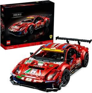 CV3039tb 1円スタート! 未使用 LEGO レゴ テクニック FERRARI フェラーリ 488 GTE AF コルセ #51 42125