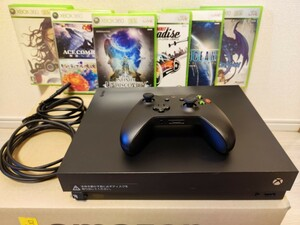 マイクロソフト Xbox One X 1TB 本体 XBOX