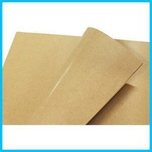 新品クラフト紙 片面ツヤ加工 ラッピング フジパック 包装紙 100枚LUG8