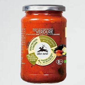 未使用 新品 NERO(アルチェネロ) ALCE S-LW 添加物不使用 3~4人前) 有機 パスタソ-ス トマト&香味野菜 350g (オ-ガニック イタリア産