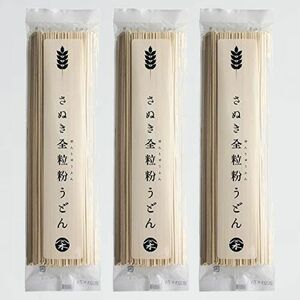 好評 新品 【お試し】さぬき全粒粉うどん 木下製粉 Z-KV 乾麺 干しうどん 3袋 (200g×3) 食物繊維たっぷり
