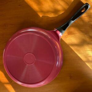 フライパン マーブル ピンク ガス火 27cm