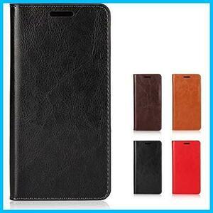 ソニー Sony Xperia X Compact 用 SO-02J ドコモ 本革 手帳型 ケース シンプルデザイン 落ち着い色 レトロ カードポケット スタンド機能
