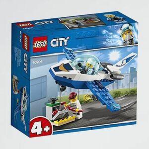 新品 目玉 シティ レゴ(LEGO) 8-H9 おもちゃ 男の子 ジェットパトロ-ル 60206 ブロック