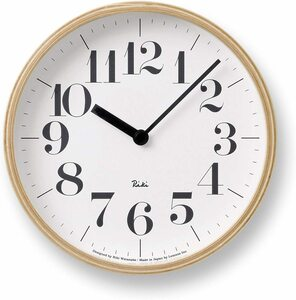 Lemnos clock natural s wr-0401s