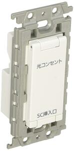Panasonic Cosmo series wide 21 embedded optical outlet
