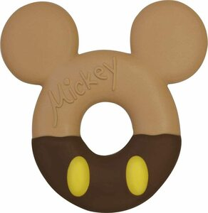 Mickey mouse because of the donation donut teeth
