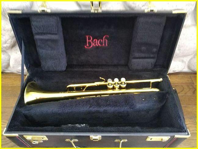 Vincent Bach Stradivarius 180ML Model 37G/ヴィンセントバック ストラディバリウス トランペット 69万番台/ゴールド色/ハードケース付