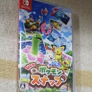 ニンテンドースイッチ Nintendo Switch New ポケモンスナップ 美品 ソフト ポケットモンスター
