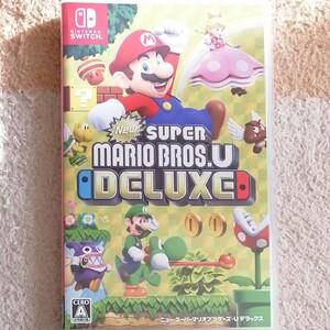 ニンテンドースイッチ Nintendo Switch New スーパーマリオブラザーズ U 美品