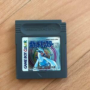 ゲームボーイカラー ポケットモンスター銀 ソフト