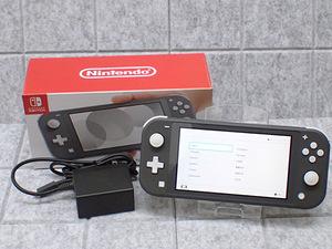 人気【中古 良品】Nintendo Switch Lite グレー HDH-S-GAZAA 任天堂 ニンテンドー スイッチ ライト 本体(LKA660-1)