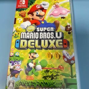 New スーパーマリオブラザーズU デラックス Nintendo Switch ニンテンドースイッチ 任天堂