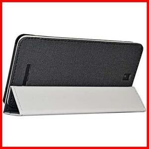 ★カラー:ブラック★ Zshion iPlay 7T タブレット ケース スタンド機能付き 保護ケース 薄型 超軽量 全面保護型 三つ折高級スマートカバー