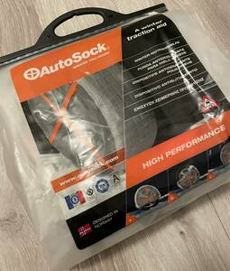 SALE* tire slip prevention *AUTOSOCK high Performance *698* unused new goods * breaking the seal ending *