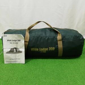 【中古】コールマン Wide Lodge 300 Model 170T9900J アウトドア キャンプ レジャー イベント ファミリー テント Coleman