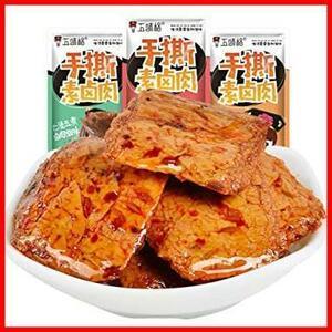 新品蜜汁味14g×50パッケ 麻辣素肉 豆制品素食 香辣零食休?小吃 中華料理 50包即食零食小吃 スパイシーベジタVB56