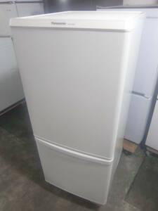 ★◇2ドア冷凍冷蔵庫 138L パナソニック NR-B14BW-W 2019年製 白 中古 小型 右開き 家電 一人暮らし用 お部屋まで搬入 送料無料 即決 5612