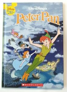 ピーター・パンPeter Pan英語 絵本ハードカバー ディズニー 読み聞かせ