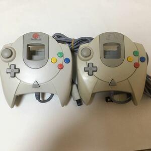 ドリームキャスト コントローラー Dreamcast セガ SEGA 動作未確認 ジャンク 2つセット ドリキャス