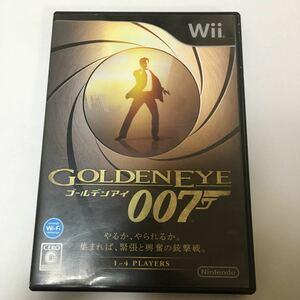 Wii ソフト ゴールデンアイ007 動作未確認 ジャンク 任天堂 ウィー