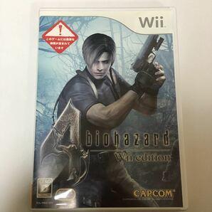 Wii ソフト バイオハザード4 動作未確認 ジャンク バイオ バイハ カプコン CAPCOM レトロ ゲーム