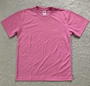 未使用 非売品【第32回 金沢ロードレース】記念Tシャツ Mサイズ ピンク 着丈64 × 身幅50 × 肩幅46.5 × 袖丈20.5