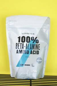 送料無料! MYPROTEIN 100% BETA-ALANINE ベータアラニン パウダー 500g 必須アミノ酸 賞味期限23年2月 マイプロテイン