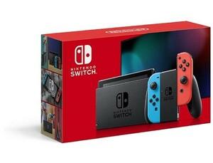 【中古】任天堂 Nintendo Switch HAD-S-KABAA ネオンブルー・ネオンレッド 美品 元箱あり